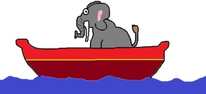 elephant-in-boat